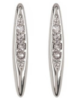 Crystal Detail Marquise Earrings
