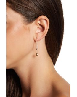 Crystal Detail Threader Earrings