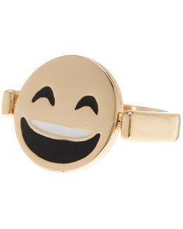 Reversible Emoji Ring - Size 7
