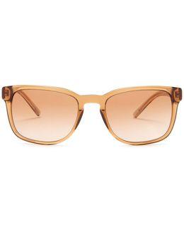 Men's Retro Composite Frame Sunglasses