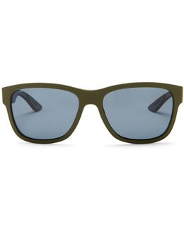 Men's Active Wayfarer Propionate Frame Sunglasses