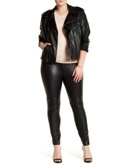 Faux Leather Legging (plus Size)