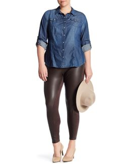 Vegan Suede Legging (plus Size)