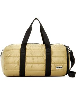 Packable Gold-toned Duffel