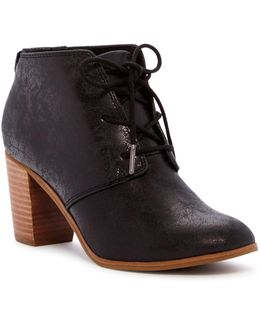 Lunata Faux-leather Ankle Boot