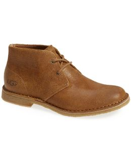 Leighton Genuine Shearling Lined Chukka Boot - Wide Width Available