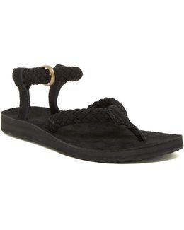 Original Suede Braid Thong Sandal