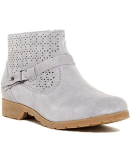 Delavina Perforated Ankle Boot - Waterproof