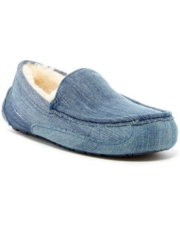 Ascot Washed Denim Uggpure(tm) Moccasin