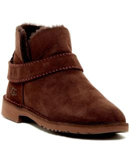 Mckay Genuine Shearling Lined Water Resistant Bootie