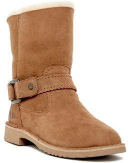 Cedric Water Resistant Genuine Shearling Lined Boot
