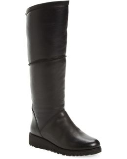 Kendi Genuine Shearling Lined Boot