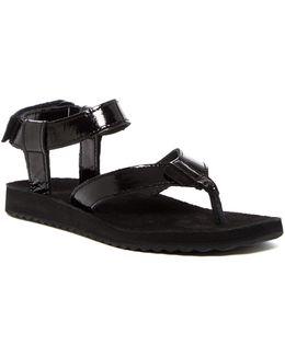 Original Patent Leather Sandal