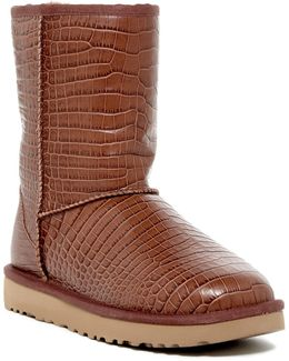 Classic Short Croco Uggpure(tm) Lined Boot