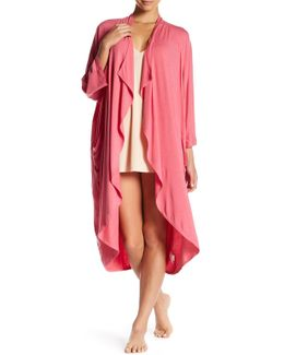 Violet 3/4 Length Sleeve Robe