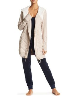 Kayla Quilted Hoodie