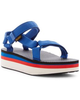 Universal Retro Flatform Sandal