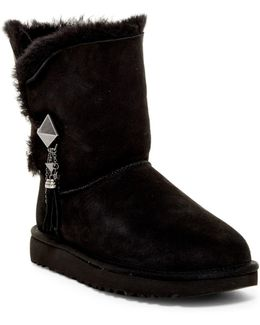 Lilou Genuine Shearling Lined Short Boot