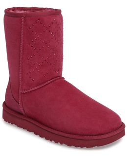 Classic Short - Crystal Genuine Shearling Lined Boot (women)