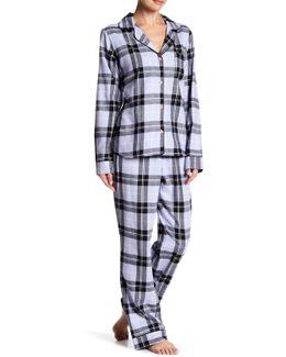 Raven Plaid Pajama Set