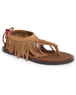 Yoga Fringe Sandal