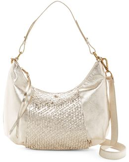 Intreccio Leather Hobo Bag
