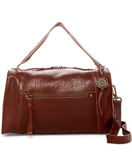 Mirada Leather Satchel
