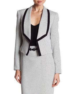 Shawl Collar Tweed Jacket