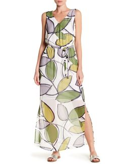 Vine Sleeveless Maxi Dress