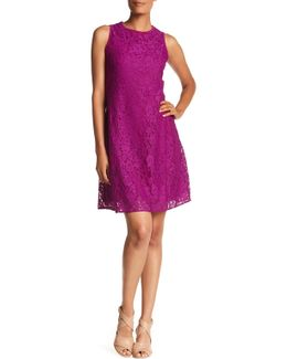Trapeze Body Lace Dress