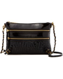 Bali '89 Woven Leather Crossbody