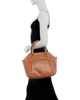 Faro Leather Satchel