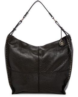 Silverlake Leather Bucket Hobo