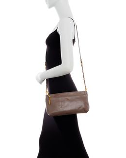 Lucca Convertible Leather Crossbody