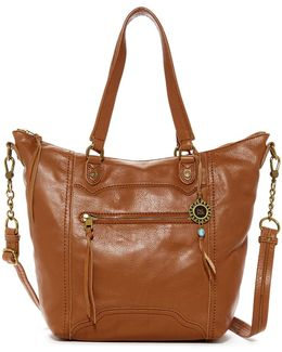 Tahoe Leather Tote