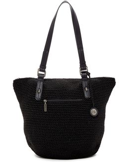 Emma Woven Shoulder Bag