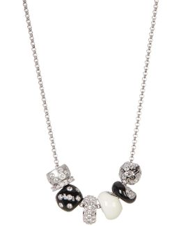 Classic Crystal Bead Necklace