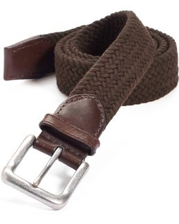 Cotton Web Belt