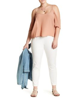 Twill Cigarette Pant (plus Size)