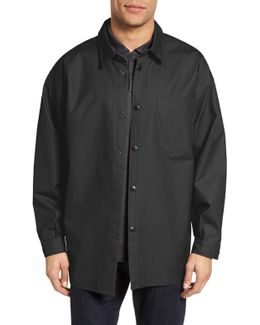 Lerum Relaxed Fit Shirt Jacket