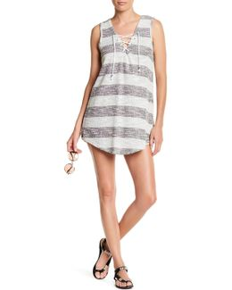 Knit Stripe Cover-up