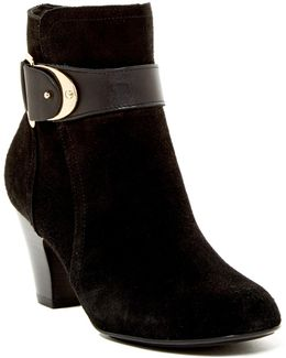 Nadra Ankle Strap Bootie