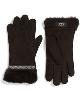 Ugg(r) Classic Tasman Genuine Shearling Gloves