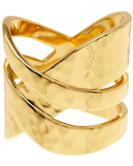 Amanda Crossover Ring - Size 8