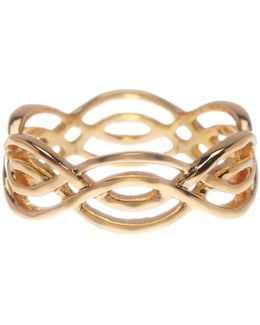 Mesa Wave Ring - Size 8