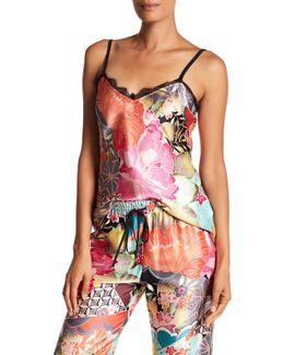 Launa Printed Silk Cami