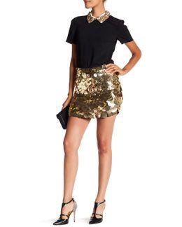 Mini Kalina Large Sequin Skirt