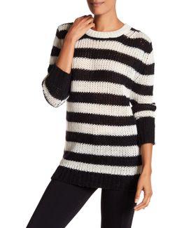 Penelope Striped Knit Sweater