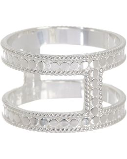 Sterling Silver I-bar Ring