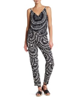 Gilly Printed High Waisted Pant